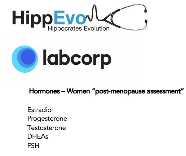 Hormones women assessment list